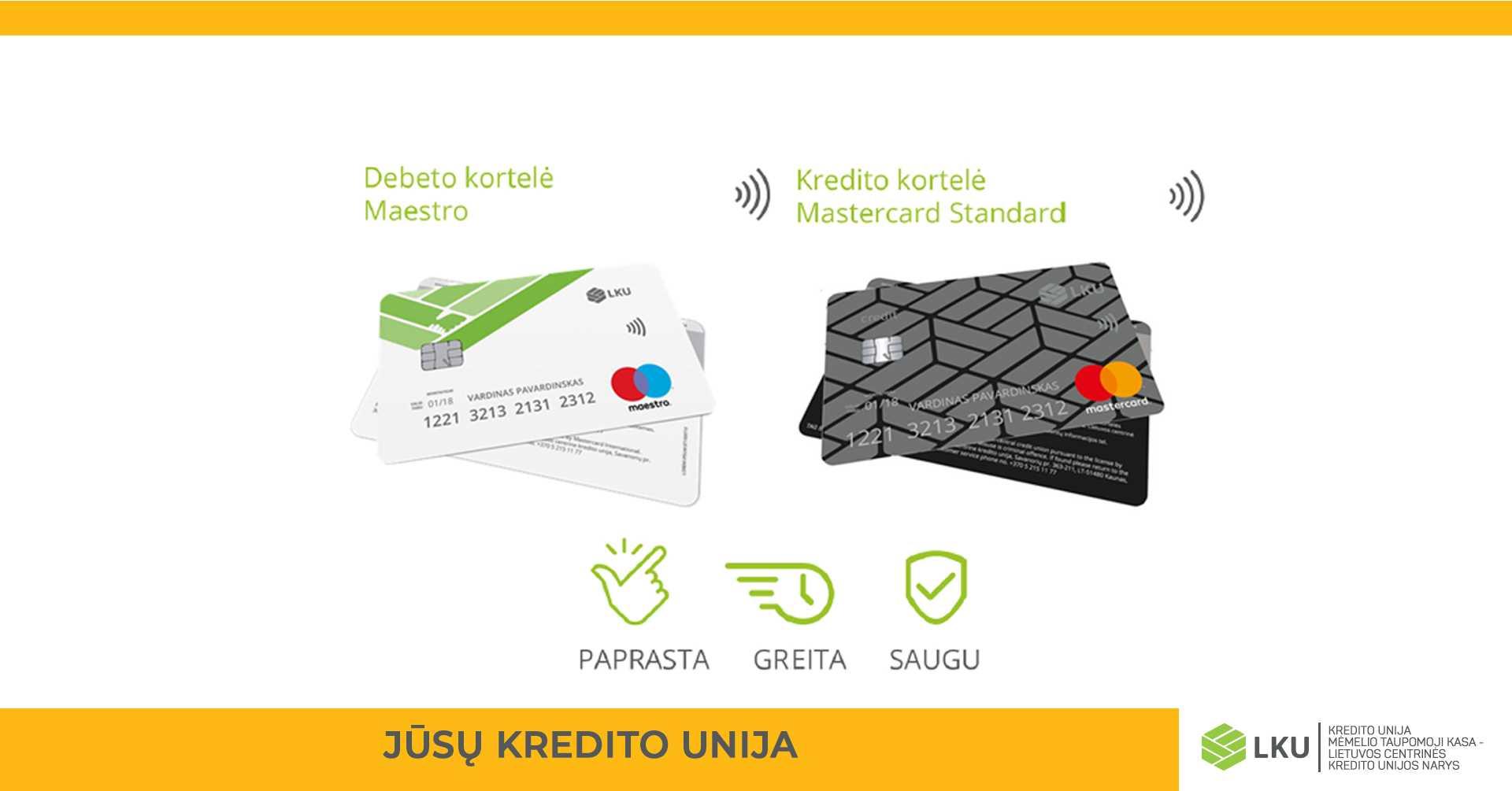 MTK kredito kortelės